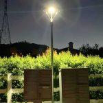 Solar LED Post Top Light 25W IP65 5000K with 3,000Lm Black Finish (6)