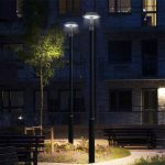 150 Watt LED Post Top Pole Light 5000K 19,500 Lumens (7)