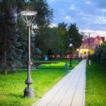 200 Watt LED Post Top Area Light Fixtures 5000K 26,000 Lumens (5)