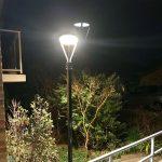 20W LED Solar Post Light Fixtures 5000K (1)
