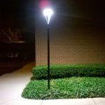 20W LED Solar Post Light Fixtures 5000K (10)