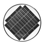 20W LED Solar Post Light Fixtures 5000K (2)