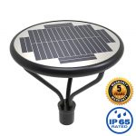 20W LED Solar Post Light Fixtures 5000K (7)