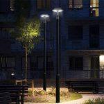 50W LED Post Top Area Light 5000K 6500 Lumens (5)